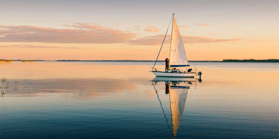 Navegar con poco viento